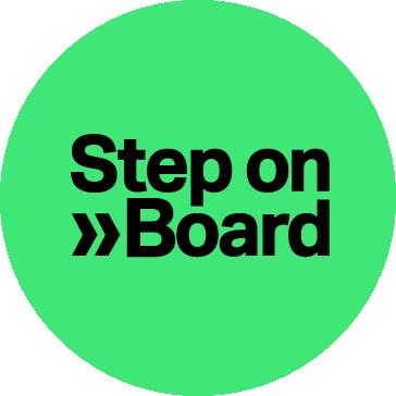 Step on Board logo